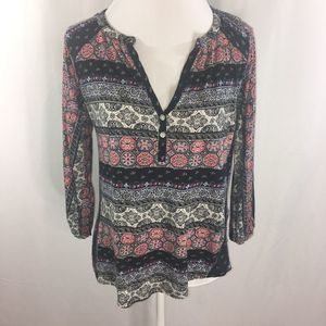 Lucky Brand Top Boho Size Small